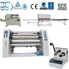 Máquina rebobinadora cortadora de cinta BOPP