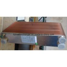 Intercambiador de calor de placas soldadas similares de barrido