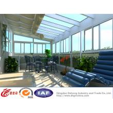 UPVC Chambre en verre de ménage en aluminium de lumière du soleil