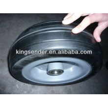 "12"" solid rubber wheel"