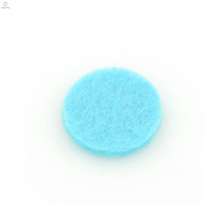 Hermosas almohadillas difusoras de aromaterapia azul, almohadilla colgante de aceite de fibra