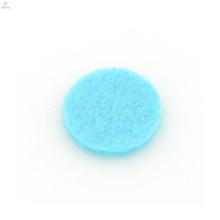 Almofadas de difusor de aromaterapia azul bonito, almofada de pingente de óleo de fibra