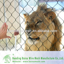 2015 alibaba china manufacture stainless steel 304 rope mesh net for animals cheap fencing