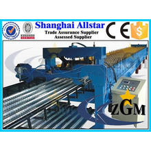 Pasar CE y BV estructura de acero Material piso Deck embutición máquina de cubierta máquina formadora de rollos de Metal