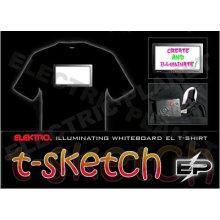 [Super Deal]Wholesale fashion hot sale T-shirt A15,el t-shirt,led t-shirt