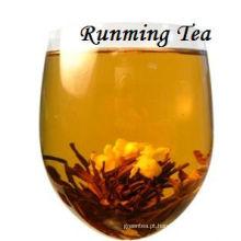 Chinês Hai Bei Tu Zhu (pérola do Seashell) Chá preto de florescência de alta qualidade