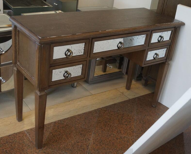 Antique Wooden Mirrored Dressing Table Mf 1815