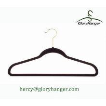 Hanger Fábrica Velvet Plastic Hanger Atacado