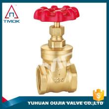 TMOK 1/2-4 Inch Brass Gate Valve With Threaded Bonnet ,Non-rising Stem,Full Port In Yuhuan Oujia Valve Factory