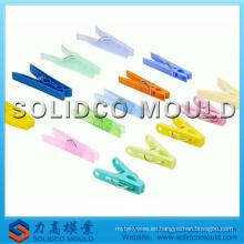 Molde de inyección de pinza de plástico