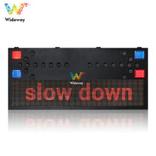 Tablero de letrero de orientación de flecha de tráfico LED de pantalla P10