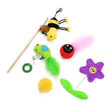 Conjunto de brinquedo de pelúcia ecológico