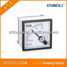 SCD72-COS Medidores trifásicos del factor de potencia