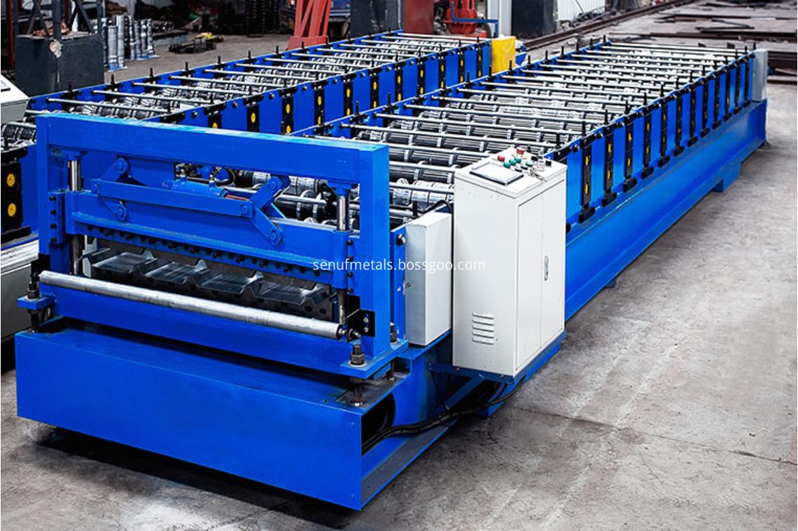 IBR roofing machine