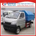 Changan small roll off steel bins truck