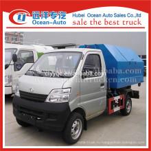 Changan небольшой откат стальных бункеров грузовик