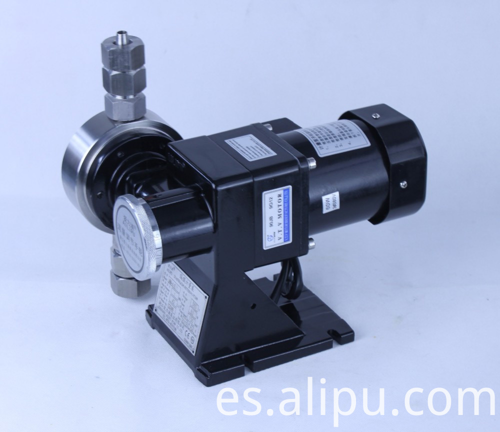Mechanical Mtering Pump