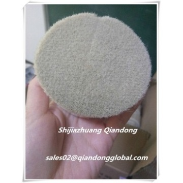 Natural White Goat Hair For Cosmetic Brushes