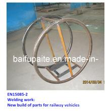 Sheet Metal Fabrication Steel Pump Rack