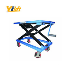 300kg hand manual screw lift tables china