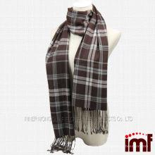 Chinesische Männer 50% Wolle und 50% Kaschmir Beliebte Design Schal Zu Verkaufen