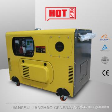 Hot sale air cooled small generator set!8kva silent diesel generator