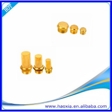 "Pneumatic Brass Muffler 1/4"" NTP Thread"