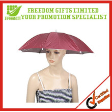 Promotional Cheap Logo Custom Umbrella Hats For Sale