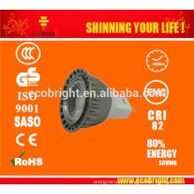 12V 3W MR16 LED Spot Lampada LED luz/Gu 5.3 MR16 54SMD 3528/vidro LED Spotlight MR16