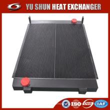 Fabricante de barra de alumínio soldada e placa radiador de óleo hidráulico