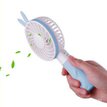 Mini Handheld Portable Rechargerble Cooling Rabbit Fan