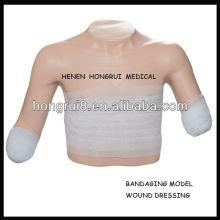 Modelo de vendaje avanzado ISO de posición superior, modelo de apósito para heridas