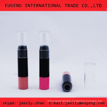 Silm transparent cap lipstick tube