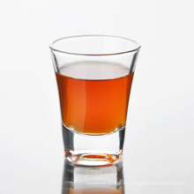 Vaso de whisky pequeño transparente de 60 ml
