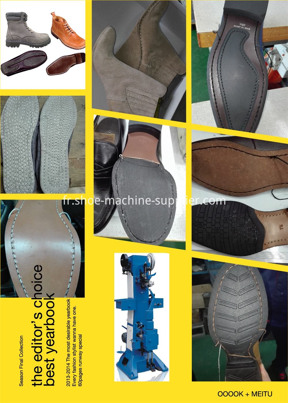 Shoe Sole Stitching Machine