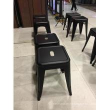 Muebles modernos diseño colorido Metal taburete alto piernas