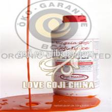 Konzentrieren Sie Goji Beeren Saft mit hoher Qualität