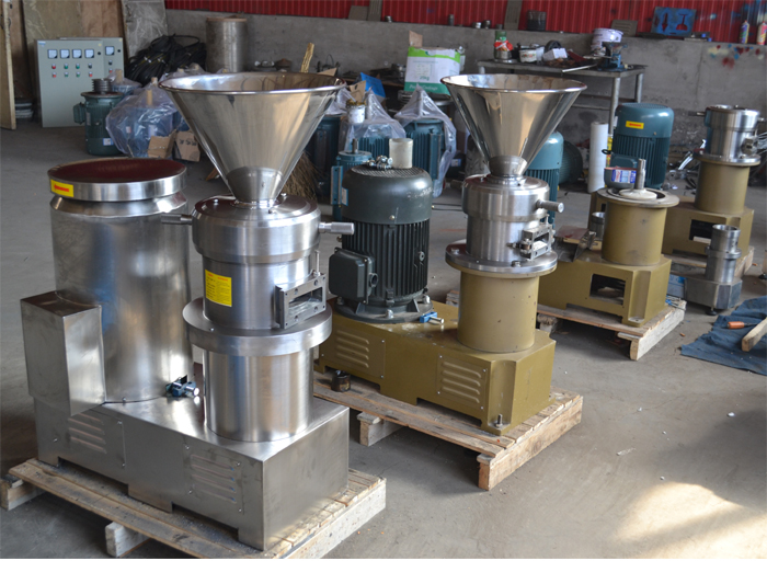 sesame butter grinding machine