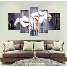 Pintura em tela esticada para a sala de estar