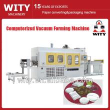 Машина для вакуумной формовки пластиковых пленок