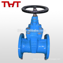 Rising stem resilient seated b62 dn65 gate valve 110mm