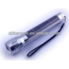Linterna solar recargable portable de la aleación de aluminio LED para el regalo promocional