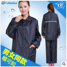 High quality firm camo polyester pvc raincoat European hot