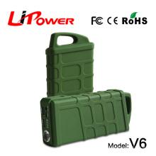 Démarrage facile 14000mAh batterie au lithium-ion de 12 volts bûche de démarrage de la voiture amortisseur de type type booster de voiture avec jumper