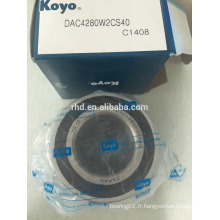 Roulement de roulement KOYO Roulement de roue automatique DAC4280W2CS40
