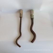 Âncora de cauda ondulada de fixação pré-fabricada para material de hardware de construção