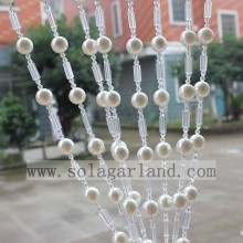 Elegant Living Room Acrylic Pearl Bead Curtain