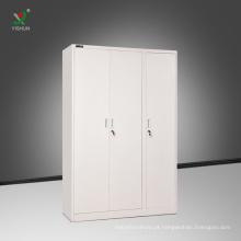 A mobília do cacifo bate para baixo o cacifo de armazenamento de pano de aço do cacifo com caixa interna