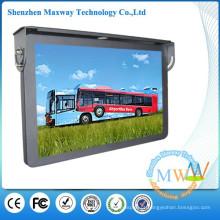 19 polegadas LCD visor ônibus/carro de mídia suporte rede WiFi ou 3G