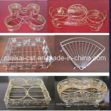 Rack de almacenamiento de alambre artesanal con alta calidad